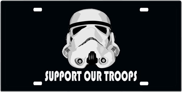 Support Our Troops License Plate, Support Our Troops License Tag