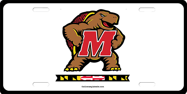 University Of Maryland License Plate License Plate, University Of Maryland License Plate License Tag